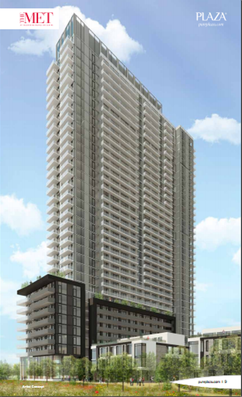 The Met Condo By Plaza Corp We Build Our Clients