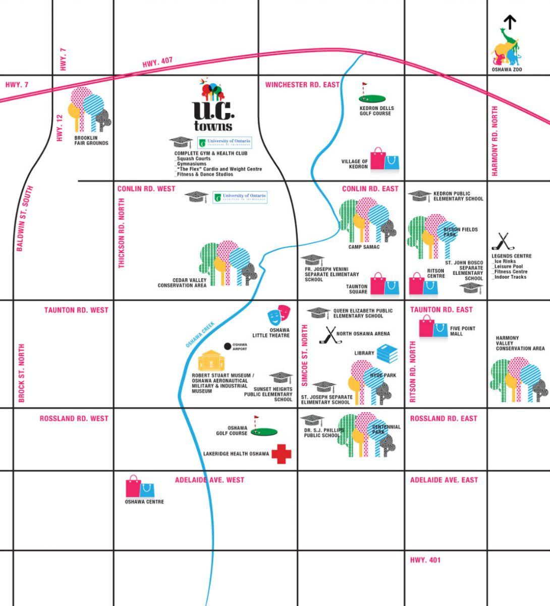 Uc Towns Oshawa Phase 2 By Tribute Next To University Of